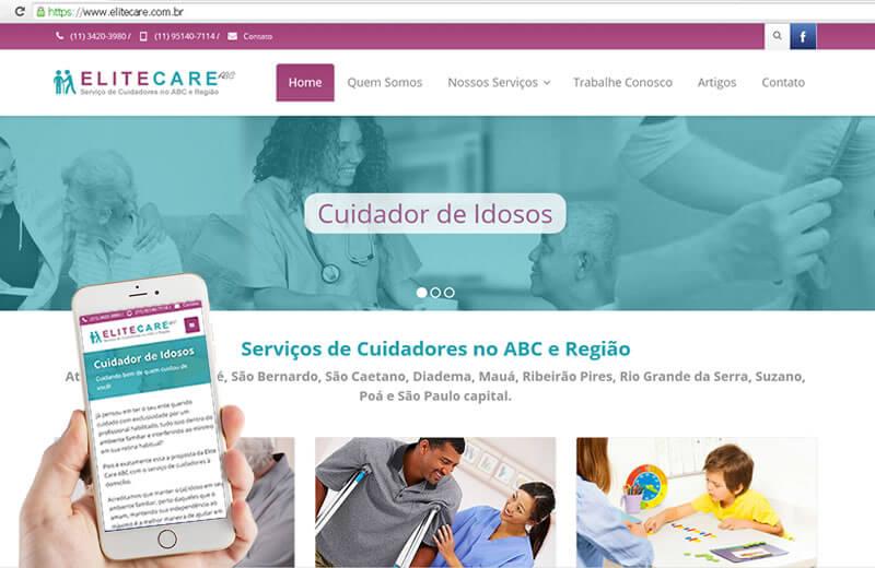Elite Care - Serviços de Cuidadores no ABC e Região